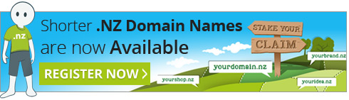 Short .NZ domain names are now available